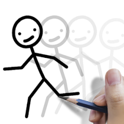 Stickman  draw animation  creator   maker  drawing