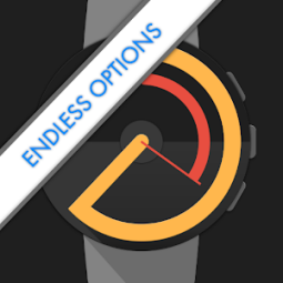 Watch Face - Pujie Black - Wear OS   Galaxy Watch